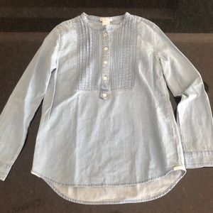 Crewcuts Chambray Longe Sleeve Shirt